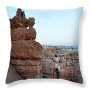 Bryce Canyon Navajo Loop Trail Window Throw Pillow