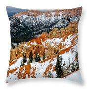 Bryce Canyon Series #1 Throw Pillow