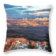 Bryce Canyon Sunset - 2 Throw Pillow