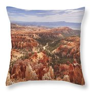 Bryce Canyon, Utah Throw Pillow