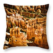 Bryce Canyon Vertical Image Throw Pillow