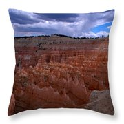 Bryce Clouds 2 Throw Pillow