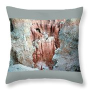Bryce Crags Throw Pillow