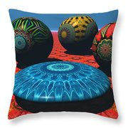 Bryce Kaleidoscope Sampler Throw Pillow