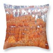 Bryce National Park Throw Pillow