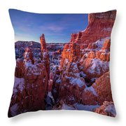 Bryce Tales Throw Pillow