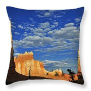 Bryce Time Throw Pillow