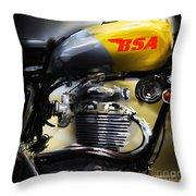 Bsa 1 Throw Pillow