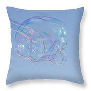 Bubble Fun 1 Throw Pillow