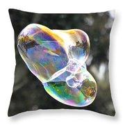 Bubble Fun Throw Pillow