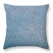 Bubble Glass Dream Throw Pillow