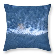 Bubble Lines Throw Pillow