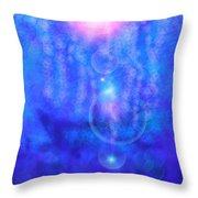 Bubble Vision Throw Pillow