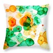 Bubbleicious Throw Pillow