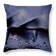 Bubbles 01 Throw Pillow