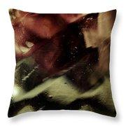 Bubbles 07 Throw Pillow by Grebo Gray