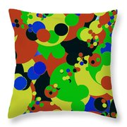 Bubbles 4 Throw Pillow