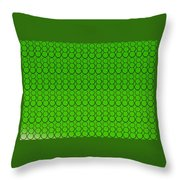 Bubbles All Over The Place -5-grn Throw Pillow