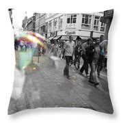 Bubbles. Copenhagen. 2 Throw Pillow