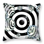 Bubble's Eyes Throw Pillow