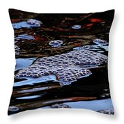 Bubbles In Bubbles Throw Pillow