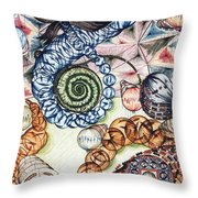 Bubbles Of Magic Throw Pillow