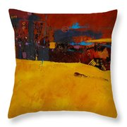 Bubbles Rising Throw Pillow