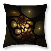 Bubbleshock 2 Throw Pillow