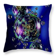 Bubbliana Catus 2 No. 5 V B Throw Pillow