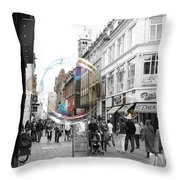 Bublbes. Copenhagen Throw Pillow