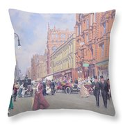 Buchanan Street Throw Pillow