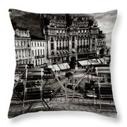 Bucharest - Old Town  Throw Pillow