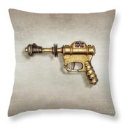 Buck Rogers Ray Gun Throw Pillow