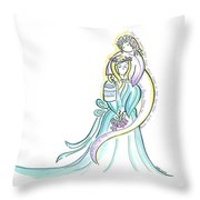 Bucket Of Tears Throw Pillow