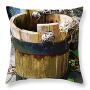 Bucket Throw Pillow
