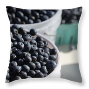 Buckets Of Blue... Throw Pillow