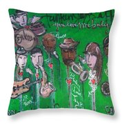 Buckner Funken Jazz Throw Pillow