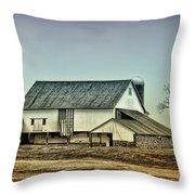 Bucks County Farm Throw Pillow