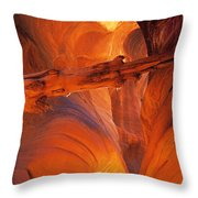 Buckskin Gulch Throw Pillow