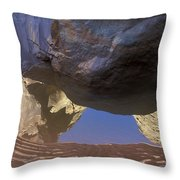 Buckskin Gulch Reflection Throw Pillow