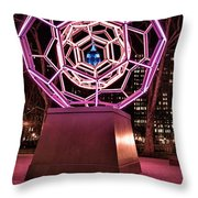 bucky ball Madison square park Throw Pillow