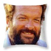 Bud Spencer Throw Pillow