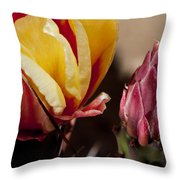 Bud To Blossom Throw Pillow
