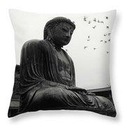 Buda Throw Pillow