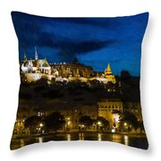 Budapest - Id 16236-104947-3830 Throw Pillow
