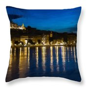 Budapest - Id 16236-105006-5202 Throw Pillow