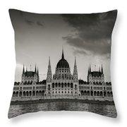 Budapest Parliament Throw Pillow