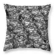 Budas Throw Pillow