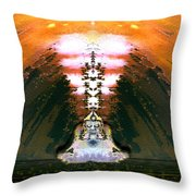 Buddahs Dream Throw Pillow