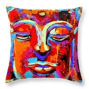 Buddha 3 Throw Pillow